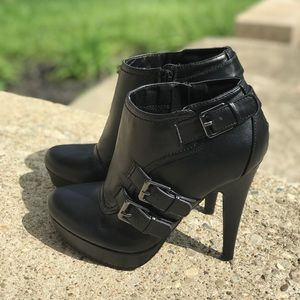Black Booties by Guess